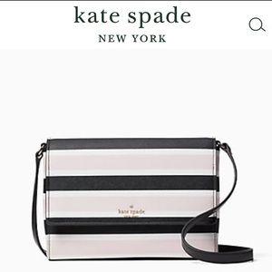 ♠️ NWT Kate Spade Crossbody Purse, Pink & Black!